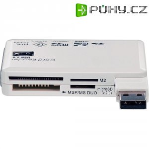 Čtečka karet 61 v 1, USB 2.0