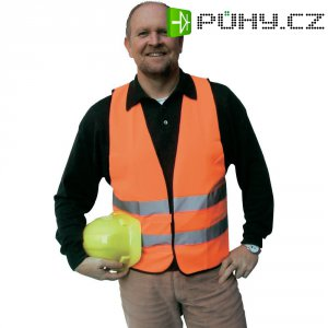 Polyesterová reflexní vesta Griffy 40961 Univerzální velikost EN ISO 20471, Třída 2