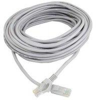 UTP kabel Patch RJ45 15m šedý cat5e