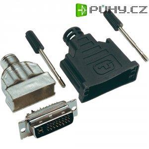 DVI konektor BKL Electronic 908000, 24+1, 25 pól.