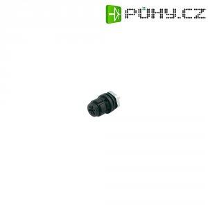 Kulatý konektor submin. Binder 620 (99-9212-00-04), 4pól., zásuvka vest., 0,25 mm², IP67