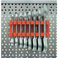 Sada plochých a ráčnových klíčů Toolcraft, 8 ks