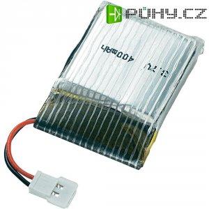 Akupack Li-Pol (modelářství) Reely, 3.7 V, 400 mAh, 10 C, plochý konektor
