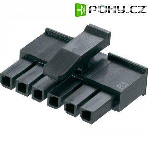 Pouzdro konektoru micro-3-mm-Mate-N-Lok TE Connectivity 1445022-6, zásuvka rovná, 3 mm