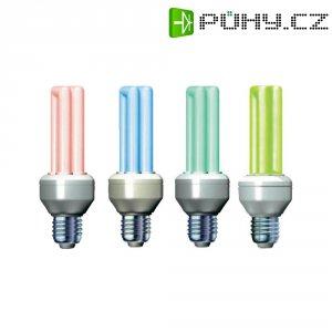 Úsporná žárovka trubková Megaman Economy Color E27, 11 W, zelenožlutá