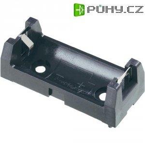 Držák na baterie 2/3 AA Keystone, 18 x 15 x 43 mm, černá