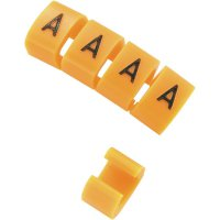 Označovací objímka na kabely V KSS MB1/V, oranžová, 10 ks