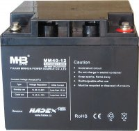 Pb akumulátor MHB VRLA AGM 12V/40Ah polotrakční
