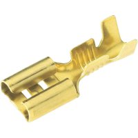 Faston zásuvka Vogt Verbindungstechnik 3800.60 4.8 mm x 0.5 mm, 180 °, bez izolace, kov, 1 ks