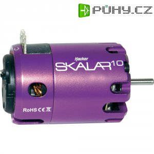 Elektromotor Brushless Hacker Skalar 10, 17,5 závitů, 2150 ot./min./V