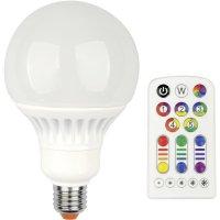 LED žárovka Jedi Lighting, E27, 13 W, 230 V, stmívatelná, RGBW