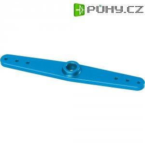 Hliníková páka serva oboustranná Reely, 83 mm, 6 otvorů, modrá