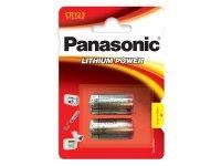 Baterie CR123 PANASONIC lithiová 2BP