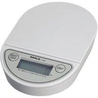 Váha na dopisy Maul MAULoval Max. váživost 2 kg Rozlišení 1 g na baterii bílá