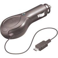 Nabíjecí kabel do vozidla s kabelovým bubnem, Mini USB