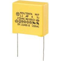 Foliový kondenzátor MKP, 2,2 µF, X2 275 V/AC, 10 %, 32 x 18 x 30 mm