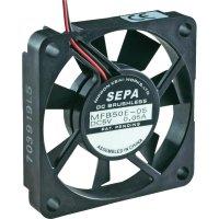 Axiální ventilátor Sepa MFB50E05, 515051000, 5 V/DC, 16 dBA, 50 x 50 x 10 mm