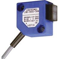 Reflexní optická závora Contrinex LRK-3031-304, dosah 2000 mm, kabel 2 m