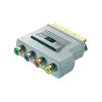 Adaptér Sound & Image SCART zástrčka/ 4xCinch zásuvka