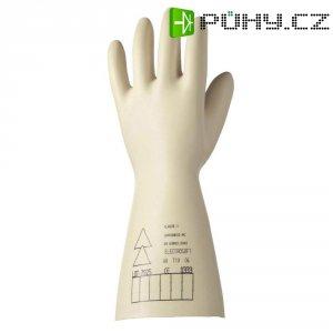 Latexové elektrikářské rukavice Electrosoft 2091907-08, velikost 8, bílá