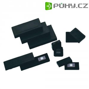 ESD pouzdro s nasazovacím víkem a s pěnovou vložkou BJZ C-186 110, (d x š x v) 34 x 34 x 11 mm, černá