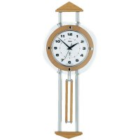 DCF kyvadlové hodiny - pendlovky, 55007, 60,5 x 24,5 cm, olše
