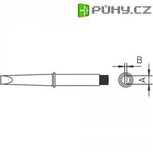 Pájecí hrot Weller 4CT5B7-1, dlátový, rovný, 2,4 mm