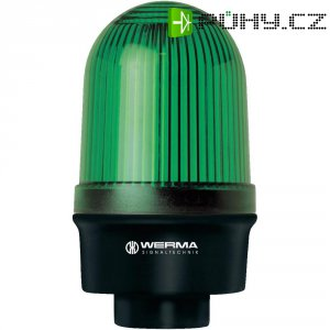 Trvalé světlo Werma, 219.500.00, 12 - 240 V/AC/DC, IP65, modrá