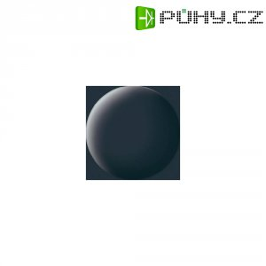 Airbrush barva Revell Aqua Color, 18 ml, pancířově šedá matná