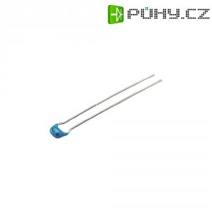 Kondenzátor keramický, 1 µF, 50 V, 20 %, 7,62 x 7,62 mm