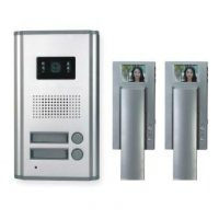 MOVETO 541029 Barevný dveřní videotelefon pro dvě bytové jednotky