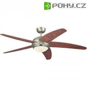 Stropní ventilátor Westinghouse Bendan jabloň/cín, Ø 132 cm, dřevo/cínová