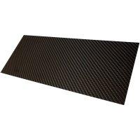 Deska z karbonových vláken Carbotec CFK-PLATTE 2MM, (d x š) 350 mm x 150 mm x 2 mm