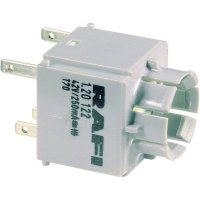 Tlačítko bez krytky Rafi, 1.20123.021, 250 V