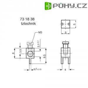 Svorkovnice PB Fastener 360410, 4 mm, 16 A