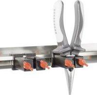 Univerzální hliníková lišta na nářadí TOOLCRAFT 88 74 25, (d x š) 600 mm x 40 mm