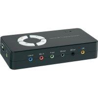 USB Soundbox 7.1 Conrad, černý