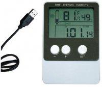Teploměr+vlhkoměr DS102 se záznamem- USB Datalogger