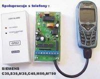 GSM pager-alarm GPA2 x35 SMD MODUL sestavený