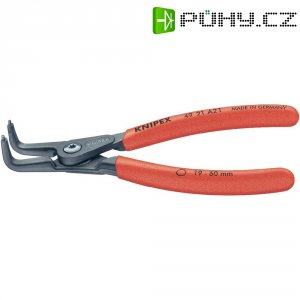 Kleště na vnější pojistné kroužky Knipex 49 21 A01, zahnuté, 3 - 10 mm