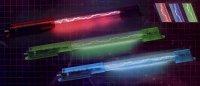Efekt auto trubice neon TL10 červený 26cm DOPRODEJ