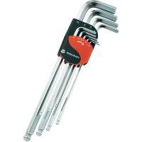 Sada imbusových klíčů TOOLCRAFT 819147, 1,5 - 10 mm, 9 ks