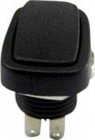 Kolébkový přepínač SCI, R13-213B-03, 250 V/AC, 2x zap./zap, 3 A