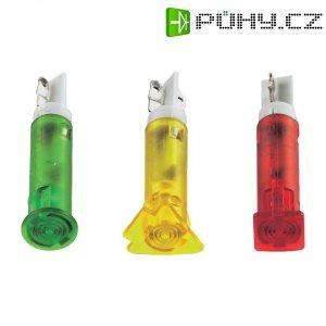 Signálka LED Signal Cons, SKID05202, 12 V/DC / 12 V/AC, bar./transp, PC pouzdro, zelená