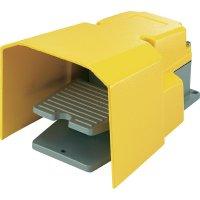 Nožní spínač FS-502, 15 A, žlutá, plast, PG11