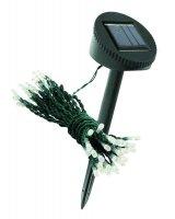 Solární světelný řetěz 50 LED