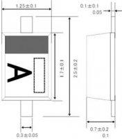 Usměrňovací dioda ROHM Semiconductor 1SS355TE17, U(R) 40 V