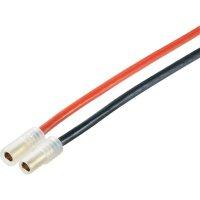 Napájecí kabel Modelcraft, 3,5 mm konektor zásuvka/zásuvka, 300 mm, 1,5 mm²