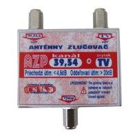 Anténní slučovač AZP39,54+TV F-F