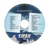 Karaoke DVD WORLD ROCK